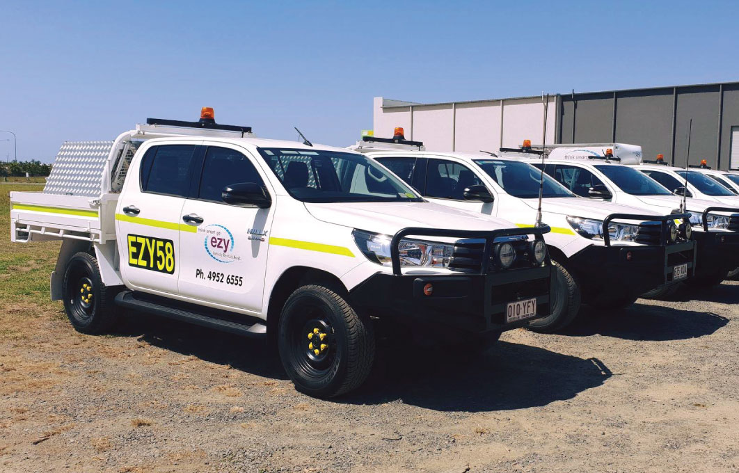 Large range of mine spec utes for hire in Mackay and Moranbah, servicing Central Queensland