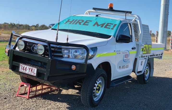 Mine Spec Vehicles for hire in Moranbah and Mackay