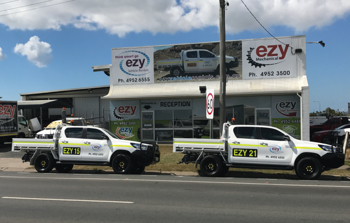 Mackay Mine Spec Vehicles for hire