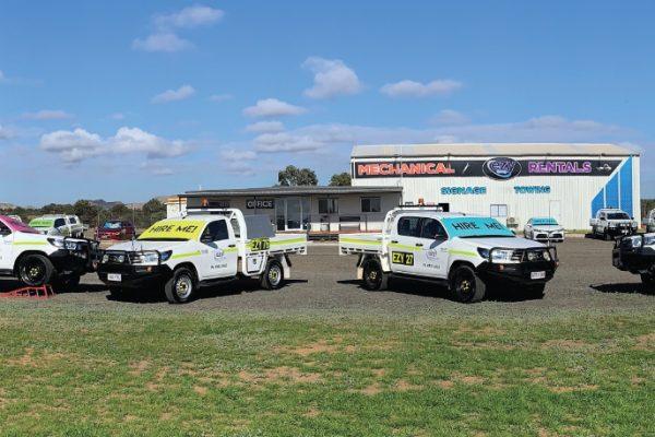 Moranbah Mine Spec Vehicles for hire