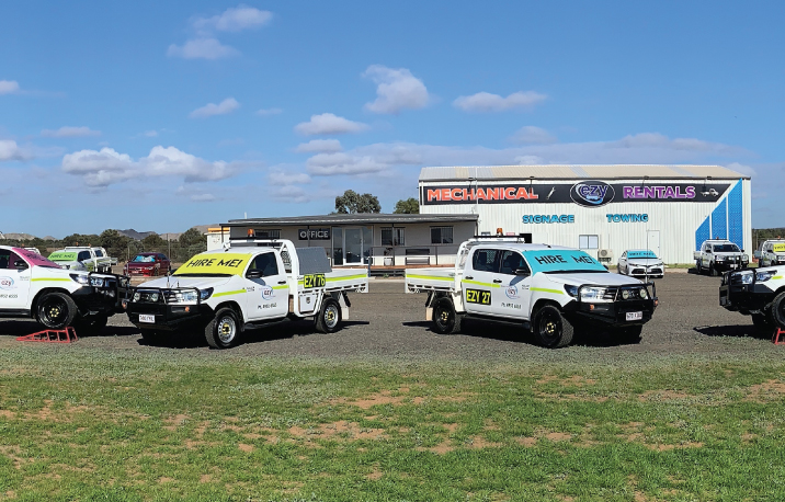 Moranbah Mine Spec Vehicles for hire