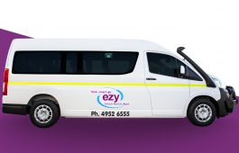 Toyota Hiace Commuter Bus available for hire